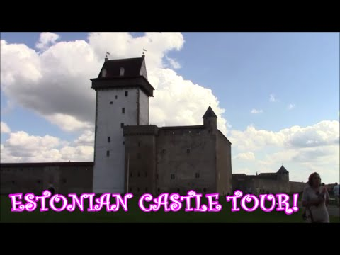 Day in a Life: Visiting Narva an Estonian Castle/Russia! (CASTLE TOUR)