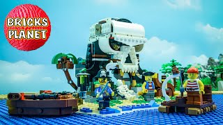 31109 Skull Island LEGO Creator 3-in-1 - Stop Motion Review