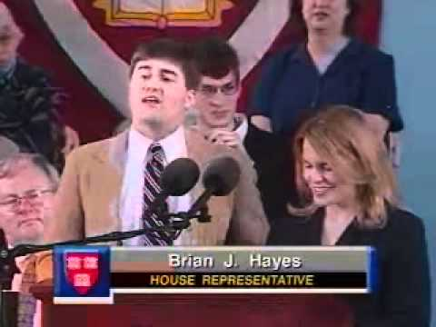 Harvard Class Day 2003 (Will Ferrell's speech at 01:26:40)
