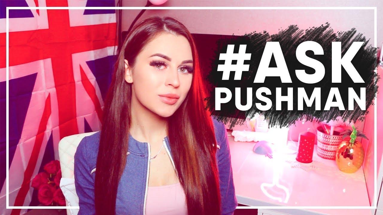 #ASK PUSHMAN || Пародия на мой клип!? МОЯ РЕАКЦИЯ