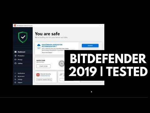 Bitdefender Internet Security Test