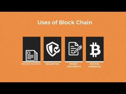Uses of block chain