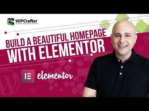 How To Build A WordPress Website Page With Elementor Page Builder   Plus Free Download