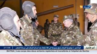 الفريق أحمد قايد صالح في زيارة إلى إقليم الناحية 2