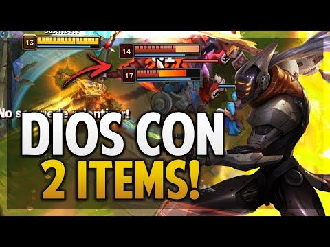 ¡MASTER YI ES DIOS CON ESTOS 2 ITEMS! | BUILD PERFECTA! | League Of Legends