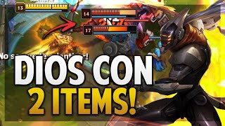 ¡MASTER YI ES DIOS CON ESTOS 2 ITEMS! | BUILD PERFECTA! | League of Legends