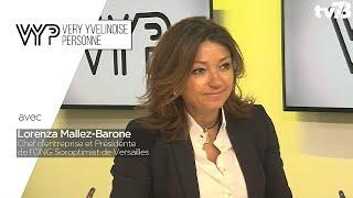 VYP. Lorenza Mallez-Barone, Chef d'entreprise et Présidente de l'ONG Soroptimist de Versailles