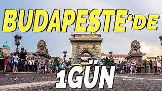Budapeşte de 1 Gün Geçirmek Macaristan Budapeşte Gezilecek Yerler VLOG