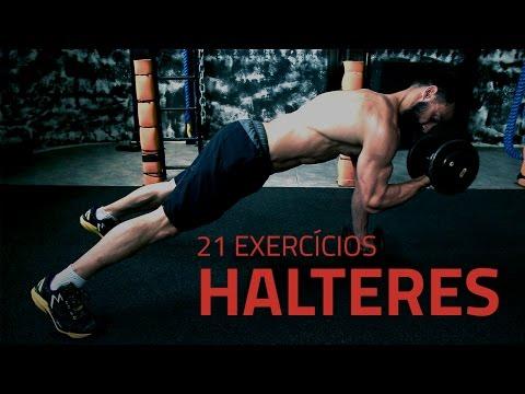 21 Exercícios Para Hipertrofia Com Halteres | Sérgio Bertoluci - X21