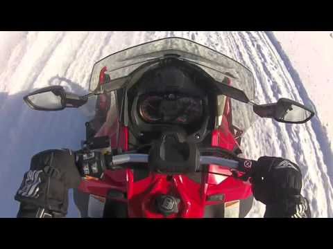 Snowmobiling in Port Loring ON , feb 15,2016