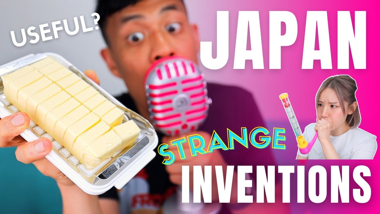 Strange Japanese Inventions that are Useful (Maybe)