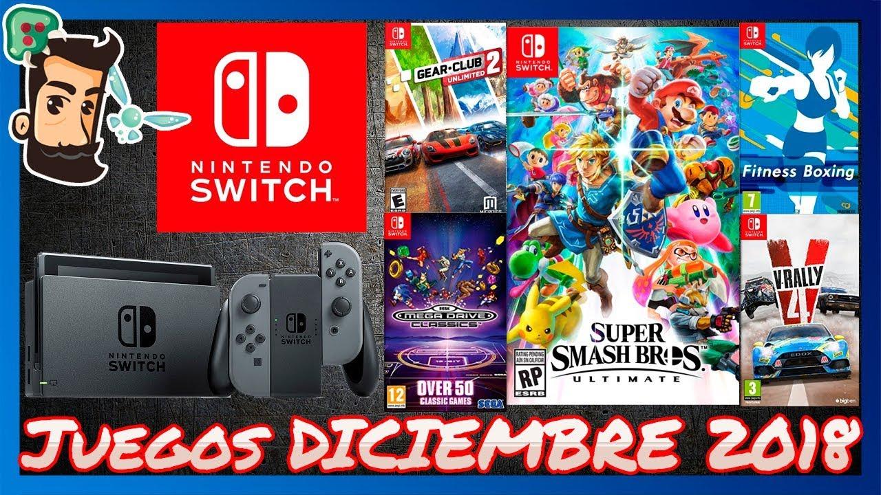 Lanzamientos De Diciembre 2018 Para Nintendo Switch Novedades