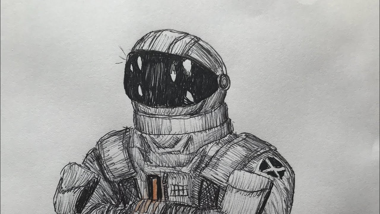 Fortnite Speed Drawing E01- The Dark Voyager