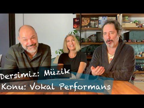 Dersimiz: Müzik //Konu: Vokal Performans!
