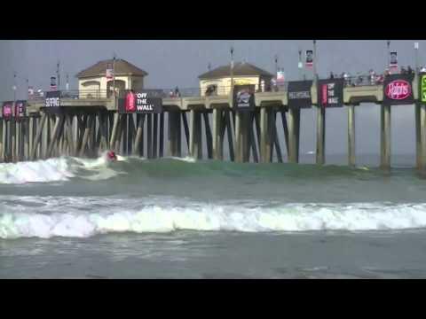Kolohe Andino Surfing Huntington Beach, California 2013 Highlights