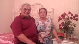 Поздравление от бабушки Нади и дедушки Вити
