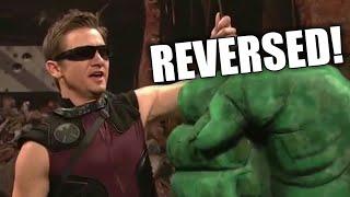 Hawkeye disappoints the Avengers - SNL in REVERSE!