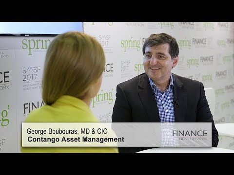 Contango Asset Management's George Boubouras speaks at the SMSF2017 Summit & Investment Expo, Sydney