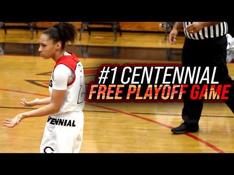#1 Girls Team Playoff Game That Didn't Matter: Centennial VS Orangewood Academy