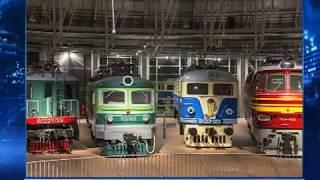 Новочеркасские электровозы - в составе экспозиции крупнейшего ж/д музея России