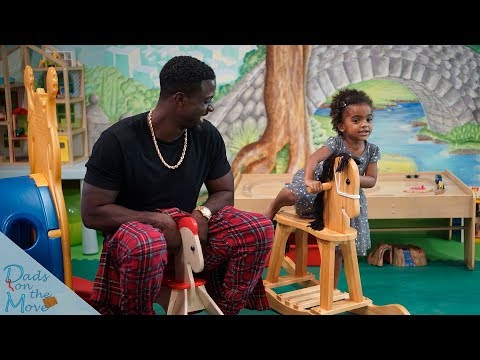 SNEAK PEEK  A Day in the Life of Lance Gross & Daughter Berkeley  Dad's on the Move