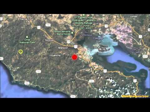 M 6.6 EARTHQUAKE - COSTA RICA 10/24/12