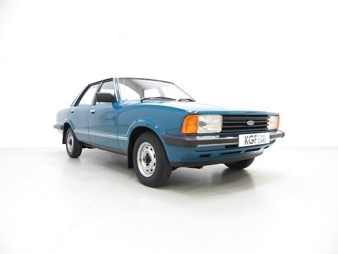 A Superb Original Ford Cortina Mk5 1600L with an Incredible 28,966 Miles from New - SOLD!