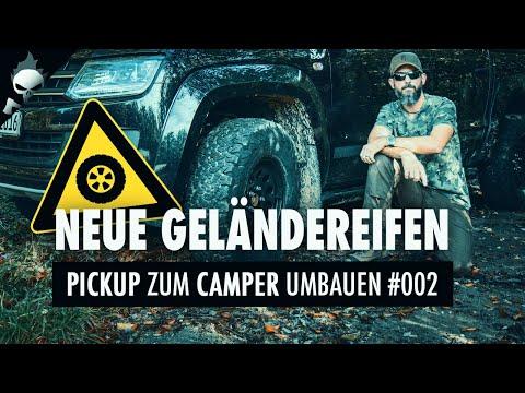 Offroad-Bereifung für den VW Amarok ???? ABENTEUER AMAROK #002