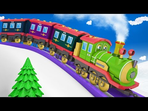 Train - Trains for Kids - Cartoon Cartoon - Cartoons for Chi