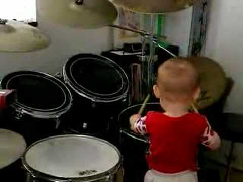 Baby Drummer Youtube