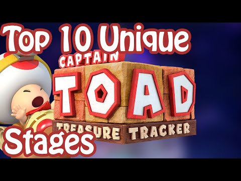 Top 10 Unique Captain Toad: Treasure Tracker Stages