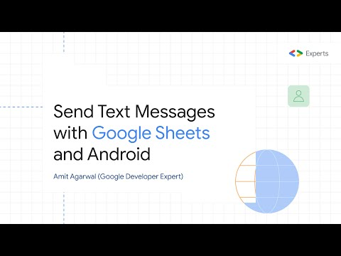 Send SMS Text Messages To Any Phone Number With Google Sheets And Android