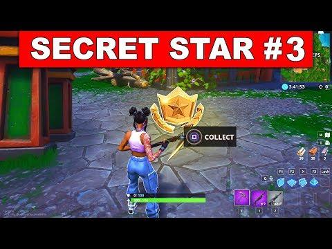 WEEK 3 SECRET BATTLE STAR LOCATION GUIDE! - Fortnite Find The Secret Battle Star In Loading Screen 3