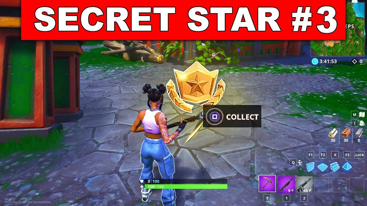 Fortnite Season Week 3 Secret Battle Star Fortnite Account