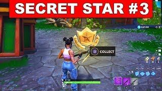 WEEK 3 SECRET BATTLE STAR LOCATION GUIDE! - Fortnite Find the Secret Battle Star in Loading Screen 3