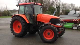 Kubota M130X Tractor | Used Farm Machinery | Vincent Tractors Cornwall
