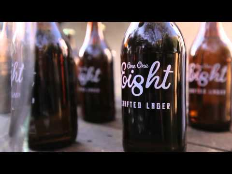 One One Eight Crafted Lager from Ogilvy / SAB / Castle Lager