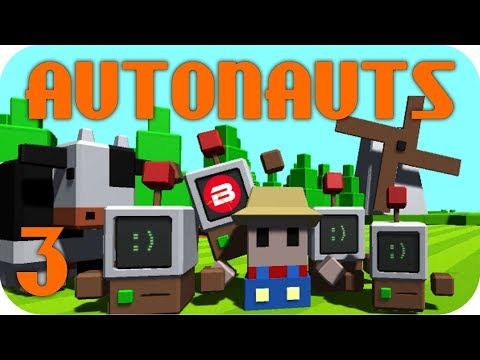 Autonauts Gameplay - BUILDING A VILLAGE FOR THE VILLAGERS!!! Let