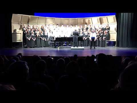 Howards Grove High School Winter Concert 12/16/2018 - Center for the Arts - Choir - Part 2