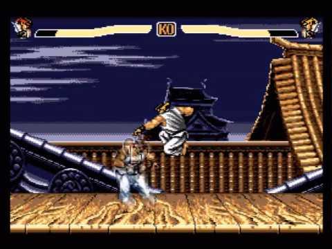 MSX 8-bit Street Fighter 2/Pointless Fighter, Ryu Full Run