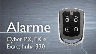 Conheça os alarmes Pósitron Cyber PX, FX e Exact linha 330