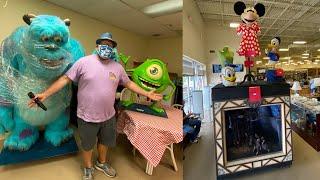 Disney Theme Park Props For Sale | Magic Kingdom Emporium Windows & Disneyland Animatronics Props