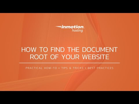 How To Find The Document Root Of Your Website