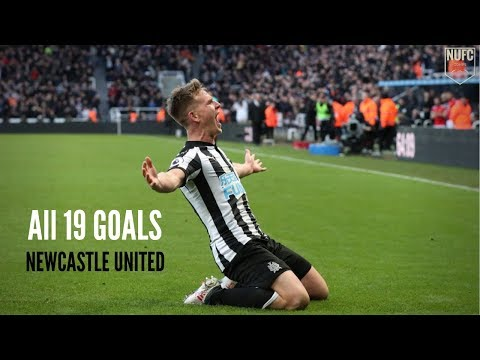 Matt Ritchie | All 19 Goals For Newcastle United