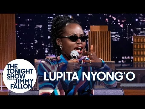 Lupita Nyong'o's Rapping Alter Ego 'Troublemaker' Freestyles