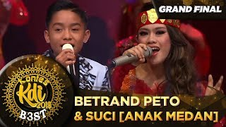 PALING SUKA! Betrand Peto Ft Suci [ANAK MEDAN] - Grand Final KDI 2019 (18/10)