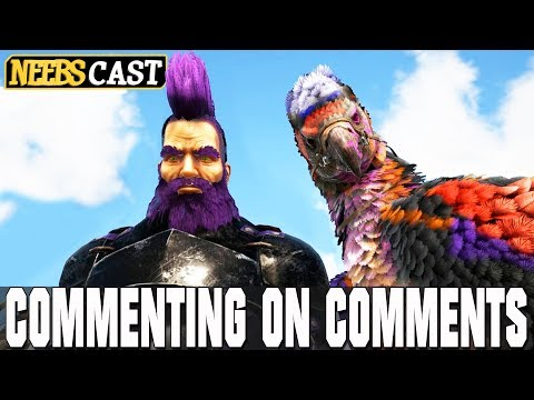 Thick is PISSED!!! Commenting on Comments (Ark Gameplay)