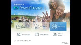 make beautiful slideshow in powerdirector