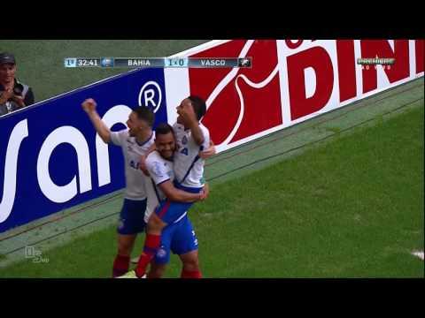 Gol - Bahia 1 x 0 Vasco - Brasileirão 2016 Série B