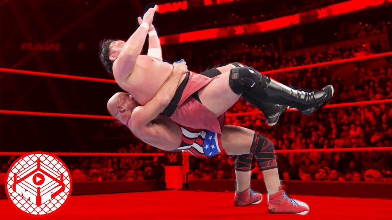Download FULL COMM. - Kurt Angle vs. Samoa Joe - WWE RAW 3/25/2019